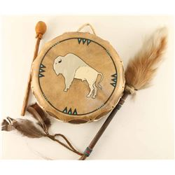 Native American Drum and Dance Wand