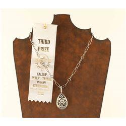 Award Winning Hopi Pendant