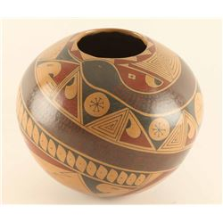 Victor Ortiz Mexican Snake Pot