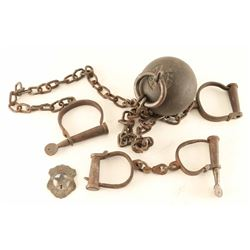 Ball and Chain with Handcuffs