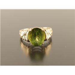 Ladies Peridot Ring Set