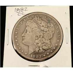 1882 CC Morgan Silver Dollar