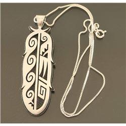 Ramon Dalangyamwa Feather Necklace