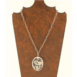 Hopi Kokopeli Pendant on chain