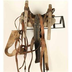 Rustic Pack Saddle