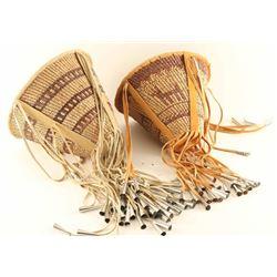 Lot of (2) Apache Burden Baskets