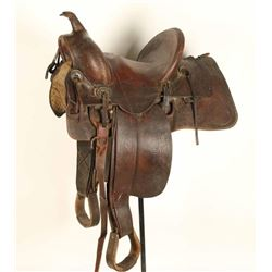 1910 Era Saddle