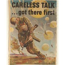 Vintage Framed Poster