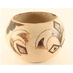 Old Zuni Polychrome Pot