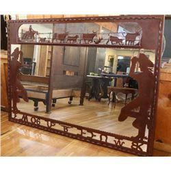 Beautiful Western Decorated Mirror