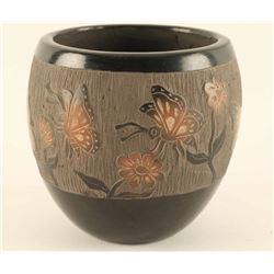 Incised Carved Pot