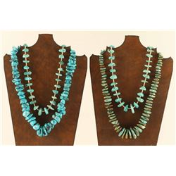 Lot of 4 Turquoise Santa Domingo Necklaces