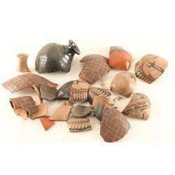 Authentic Mata Ortiz Pottery Shards