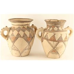 Lot of (2) Mexican Wine Jars