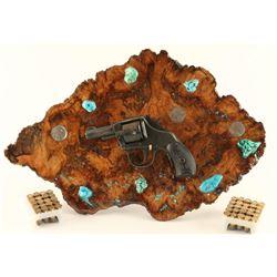 Young American Revolver Gun Art Piece