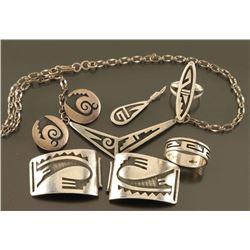 Hopi Sterling Jewelry Lot