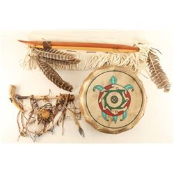 Lot of (3) Native American Items