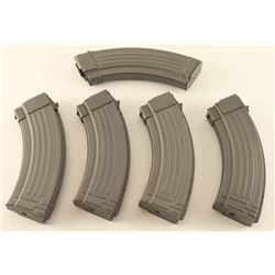 Lot of 5 AK47 Mags