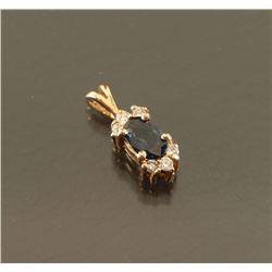 Ladies Sapphire Pendant
