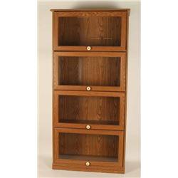 Contemporary Veneer Bookcase
