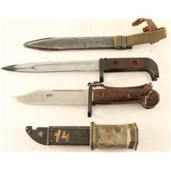 Lot of (2) Bayonets