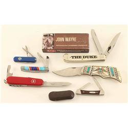 Lot of (6) Pocket Knives