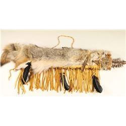 Native American Coyote Quiver with Arrows