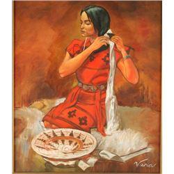 Original Oil on Canvas by Verna