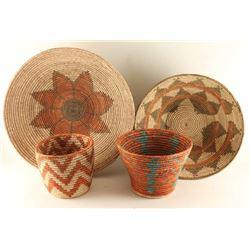Lot of (4) Southwest Baskets