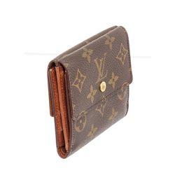 Louis Vuitton Canvas Leather Elise Wallet