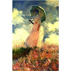 Claude Monet - Woman with Sunshade