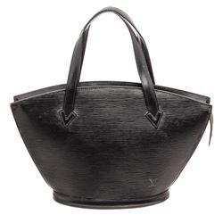 Louis Vuitton Black Epi Leather St Jacques PM Shoulder Bag