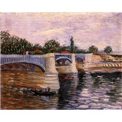 Van Gogh - The Seine With The Pont De La Grande Jette