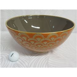 """L'Objet Pour Fortuny Glazed Round Bowl 12"""" Diameter Exclusively (Neiman Marcus)"""