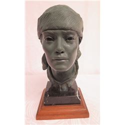 "Bronze ""Mayan Man"" Glenna Goodacre 18"" Figure 19/25 w/ COA (Appraisal $5100)"