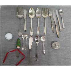 Misc Flatware: Simeon L & George H Rogers Co., Cuisinarts, Heirloom Sterling, etc