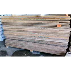 Qty Approx. 60 Wooden Plywood Sheets