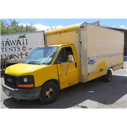2003 GMC Navtrak 16ft Cargo Box Truck Lic 342-TSZ GVW 10,000# 249494 Miles (Runs, Drives-See Video)