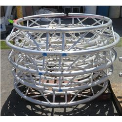 Qty 5 Round Truss Rails