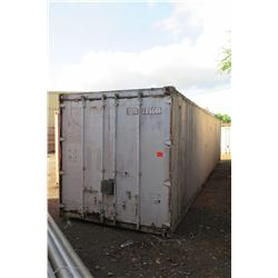 Shipping Container 20-Foot (pick up Monday or Tuesday)