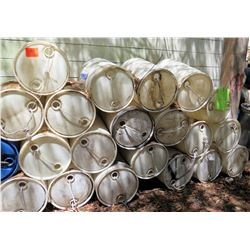 Qty Approx. 50 Hard Plastic Empty Drums