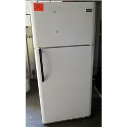 Frigidaire White Top Freezer Refrigerator Model LFTR1814LWD