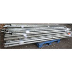 Pallet Misc. Tent Poles - Various Lengths & Sizes