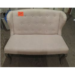 Upholstered 2-Seat Bench