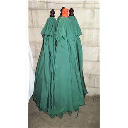 Qty 5 Green Umbrellas