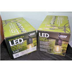 2 Boxes LED String Lights