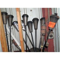 Qty 10 Tiki Torches