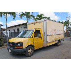 2007 GMC 17ft Box Truck 173,938 Miles, Lic. 722TSX (Runs & Drives - See Video),