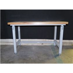 "Seville Classics Ultra HD Adjustable Height Table Workbench 48""x24"""