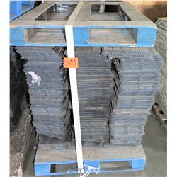 "Pallet 12"" x 12"" Rubber Sub Flooring Sections, Approx. 400 pcs"